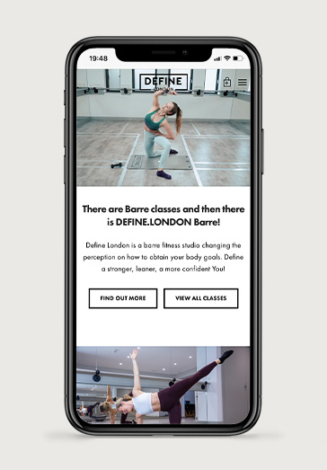 Define London 2 | Projects by Andre Armacollo Freelance Web Designer